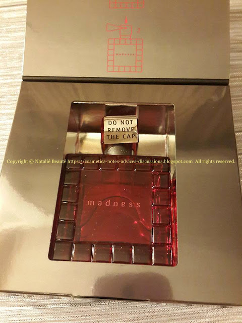 MADNESS BY CHOPARD, EDP, REVIEW AND PHOTOS NATALIE BEAUTE