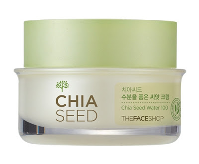 Face Shop chia seed cream product review