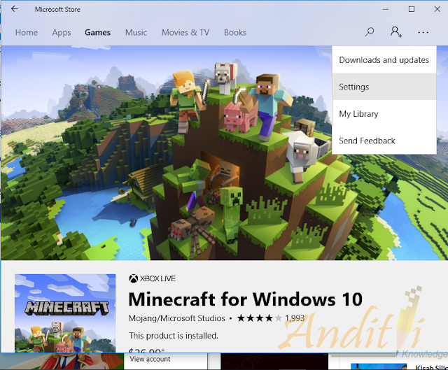 Mematikan Autoplay Video di Microsoft Store-anditii.web.id