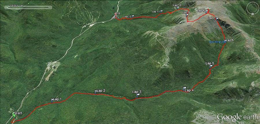 Jewell Trail Mt Washington Map.Jewell Trail Mt Washington Map
