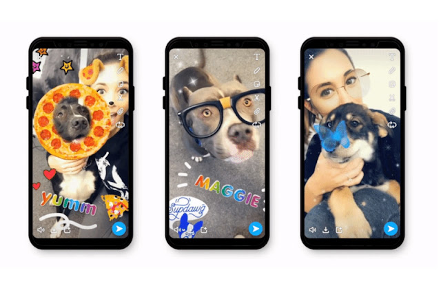 Snapchat Launches Lenses for Dogs Owners for Amazing Pet Selfies