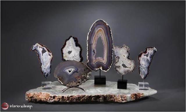 Semi-Precious Stones For Interior Decoration 1
