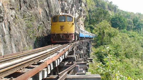 7. द डेथ रेलवे, थाईलैंड (The Death Railway, Thailand)