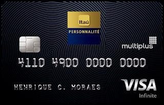 cartão de crédito Multiplus Visa Infinite