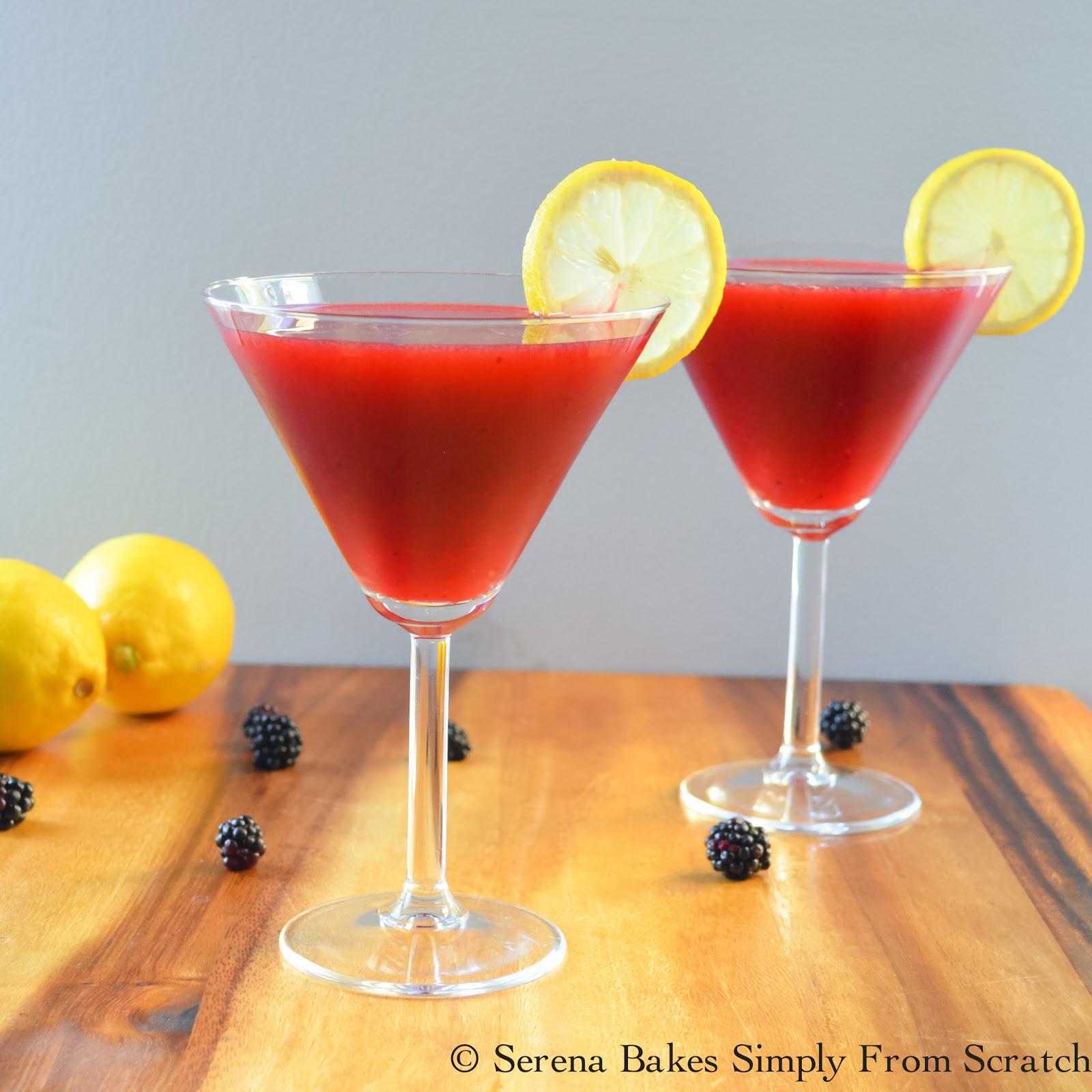 Spiked Blackberry Lemonade