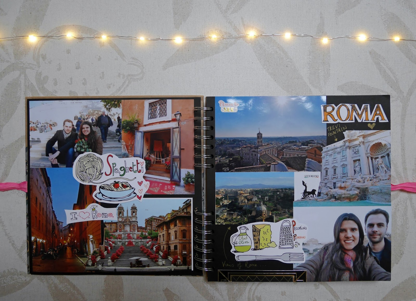 2017 travel scrapbook - Rome