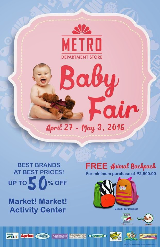 bd02d9958e Metro Store s Baby Fair happens from April 27 - May 3
