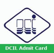 DCIL Admit Card