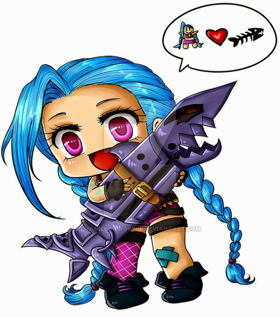 jinx chibi cartoon