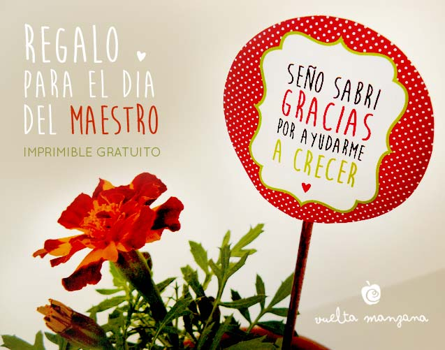 Vuelta Manzana: Ideas para regalarle a la maestra
