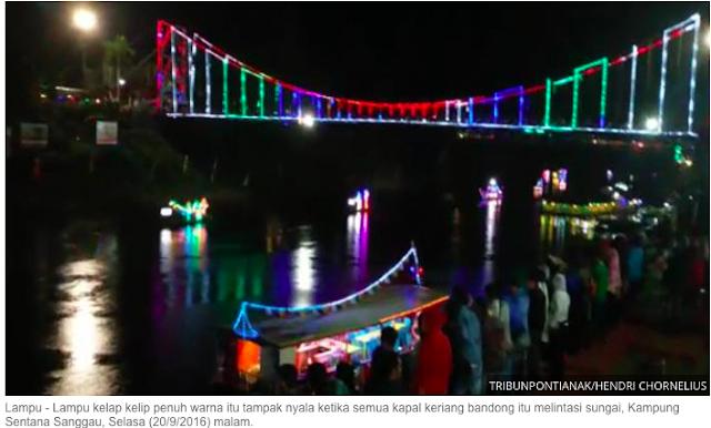 Wow... Bupati Paolus Hadi Selama Menjabat Banyak Ciptakan Banyak Taman Wisata Untuk Kota Sanggau
