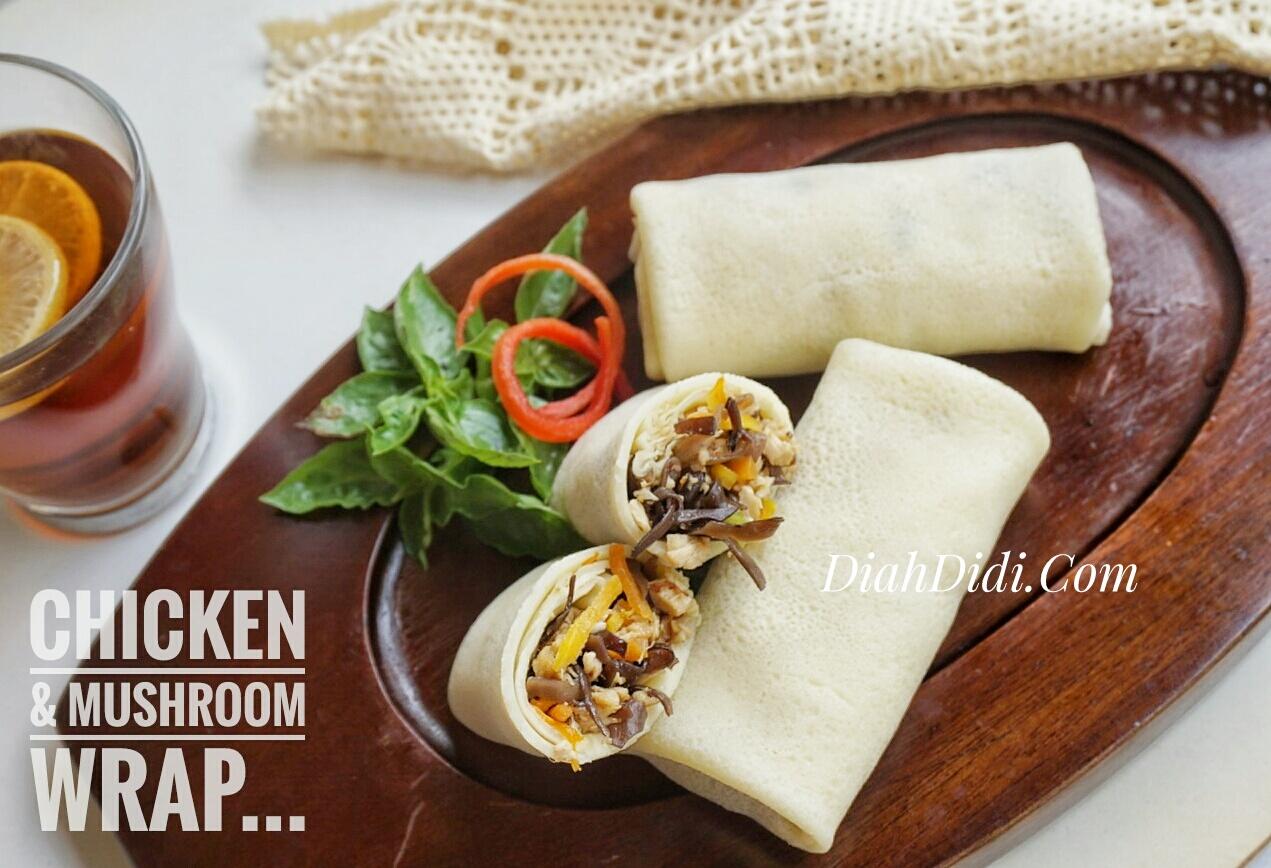 Chicken & Mushroom Wrap