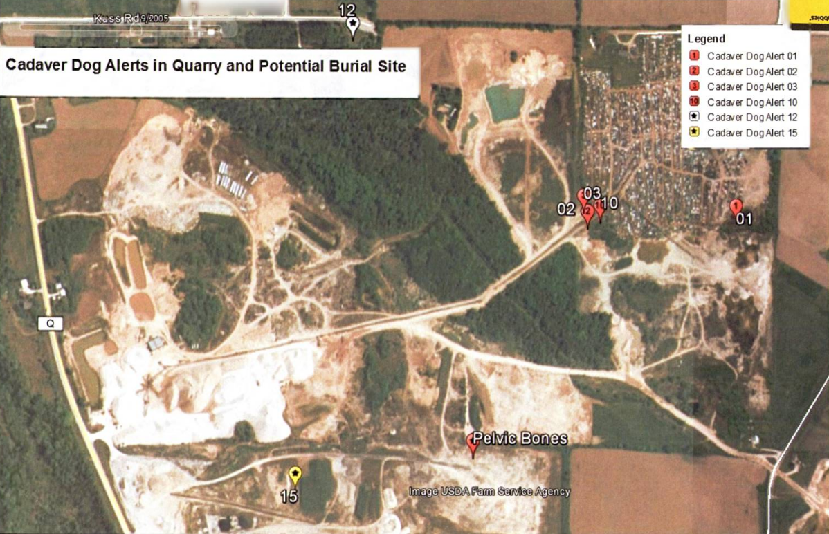 teresa halbach s friends located her rav4 off the southwest quadrant of avery salvage yard on the morning of november 5 2005