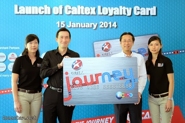 Caltex Launches Loyalty Program Partnership With BCARD