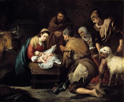 Adoración de los Pastores - Hacia 1650 - Bartolomé Esteban Murillo - Museo del Prado -