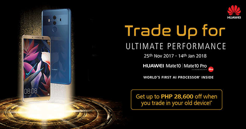 Huawei announces Trade In promo for Mate 10 series!