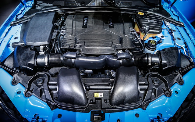 2014 Jaguar XFR-S Powerful Engine