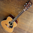 Yamaha FG 335 acoustic guitar in hard case late 1970s/80s
