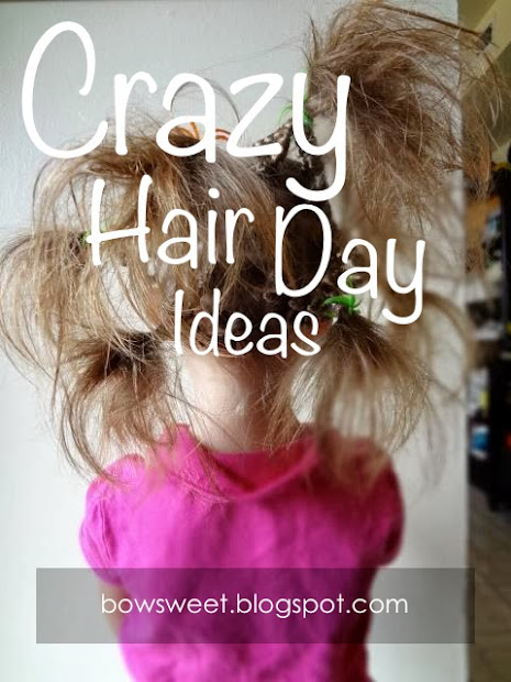 bowsweet tuesday tips crazy hair