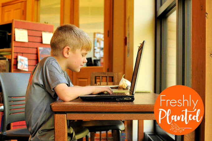 FreshlyPlanted: Why Kids Need Typing: KidzType Review (A