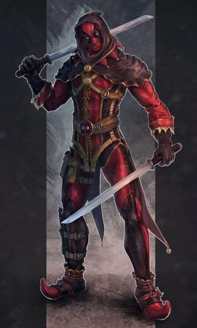 Deadpool, por c.e. Näslund