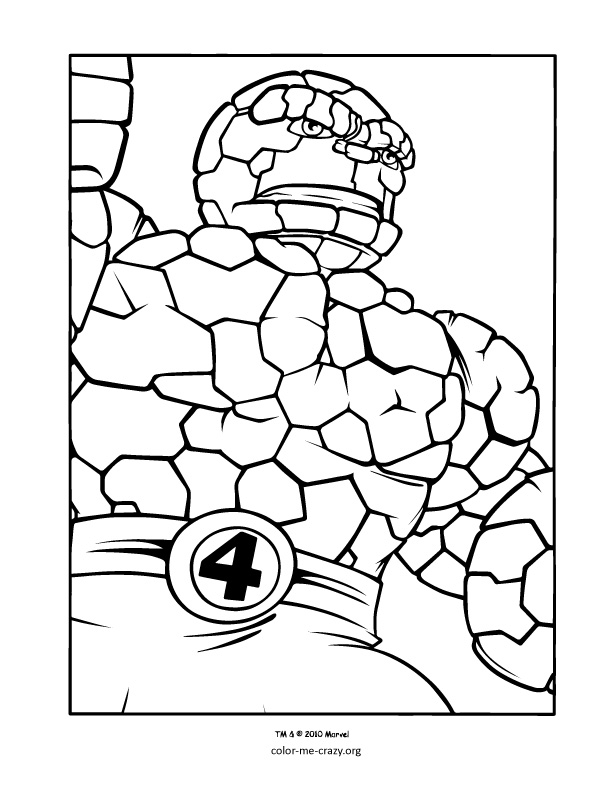 free superhero squad coloring pages - photo #9