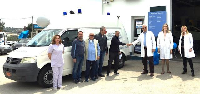 Ο Σύλλογος Φίλων Πορτοχελίου ανακαίνισε πλήρως ασθενοφόρο του Κέντρου Υγείας Κρανιδίου