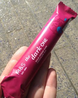 marks and spencer the dark one chocolate bar