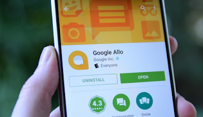 Google Allo Got new v14 Apk Update with Personal QR Codes Feature