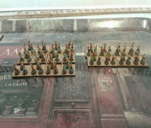 Some more skirmishers completed for my Gallic/Celtic army  picture 1