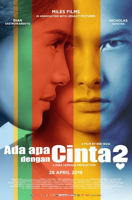 Download ADA APA DENGAN CINTA ? 2 2016 DVDRip