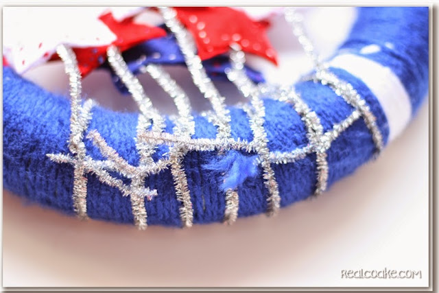 4th of July Craft - Wreath