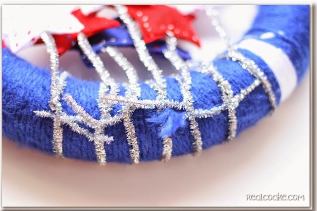 4th of July Craft - Wreath