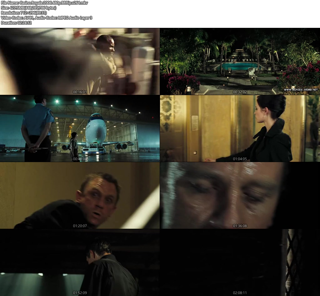 Casino Royale 2006 480p BRRip 400MB x264 Screenshot