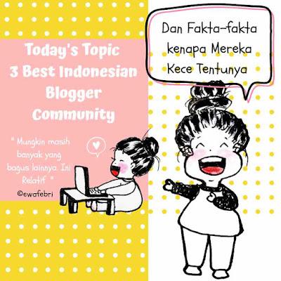 3 Komunitas Blogger Indonesia Terbaik