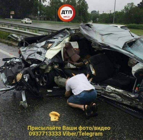 ДТП під Києвом: водій втратив матір і доньку