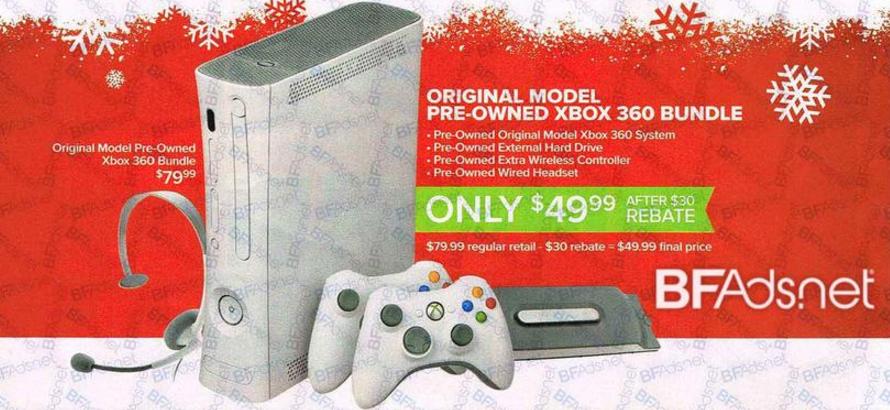 gamestop xbox 360 bundle deals