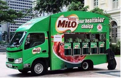 Cara Buat Air Milo Sedap Macam Milo Lori, Lori Milo,