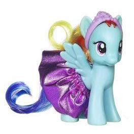 My Little Pony Royal Ball Set Rainbow Dash Brushable Pony
