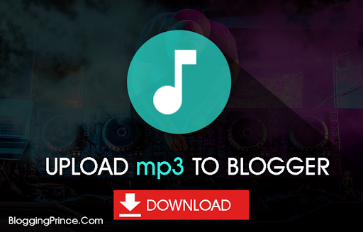 add mp3 to blogger