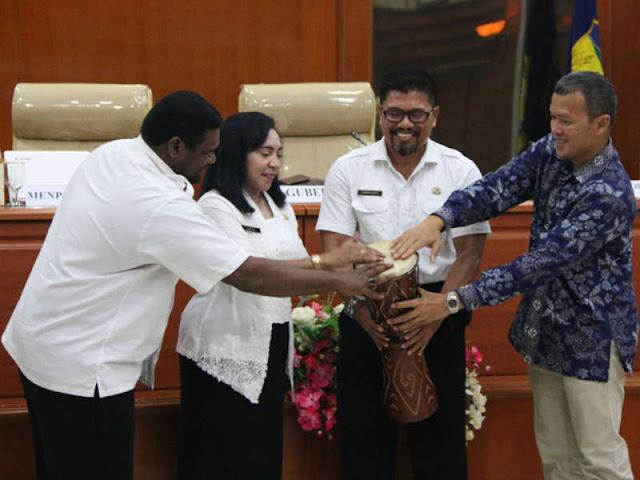 Kemenpan-RB Evaluasi Penerapan Sistem Pemerintahan Berbasis Elektronik (SPBE) di Papua