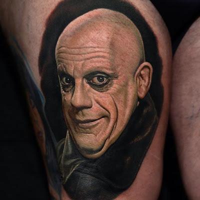 Tatuaje de Tío Lucas (Los Locos Addams)