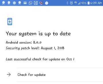 Cara update Android Oreo Pada LG G5