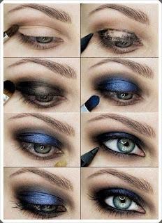 Çeşitli Göz Makyajı Yapım Örnekleri 2