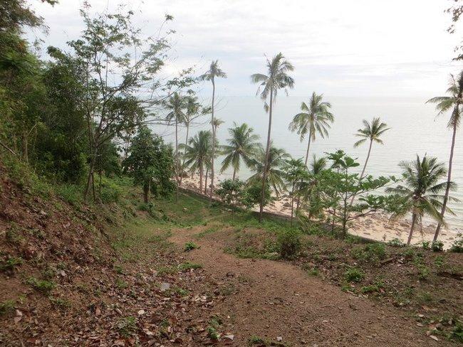 Фотография пляжа с горы
