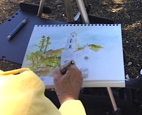 plein air painting Concord Art Assn