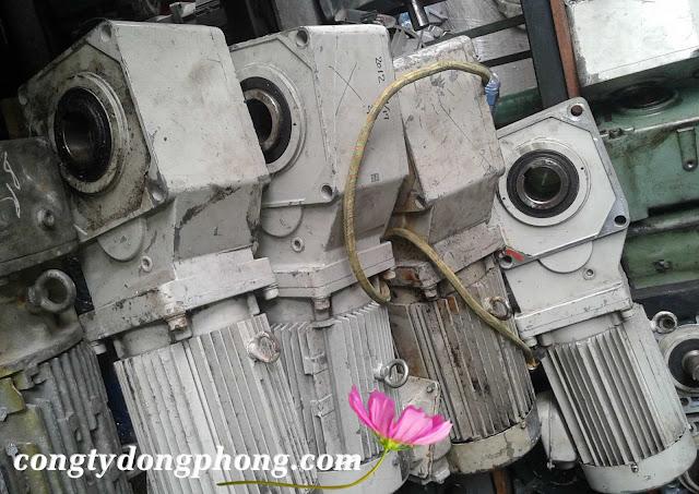 motor giảm tốc cốt âm sumitomo nhật cũ