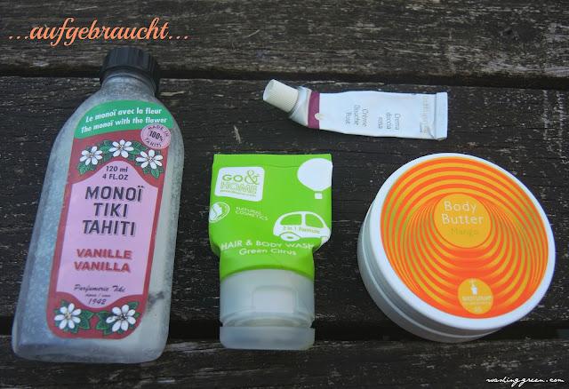 Monoi Tiki Tahiti, Go&Home, Dr.Hauschka,