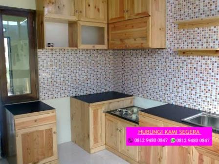 Tukang Kitchen Set Jati Belanda Bogor 0812 9480 0847 Harga Kitchen