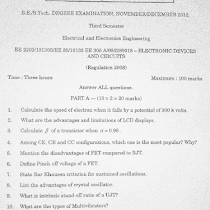 EE2203 Electronic Devices and Circuits May June 2013